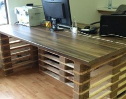 стол с бюро